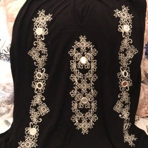 ❤️ Inc embroidered top
